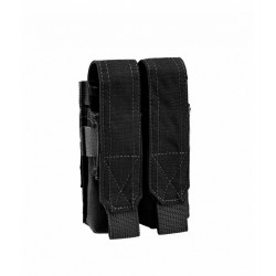 Porte chargeur double 9mm Black