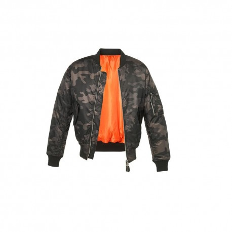 Bombers homme Militaire aviateur MA1 (1)