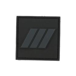 Galon velcro PVC MDL CHEF GD / GARDIEN PRINCIPAL PM 3V / basse visibilité