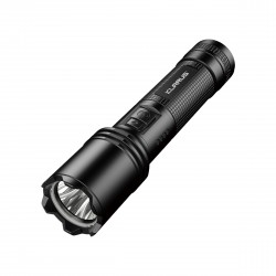 Lampe tactique rechargeable A1 LED - 1100 lumens
