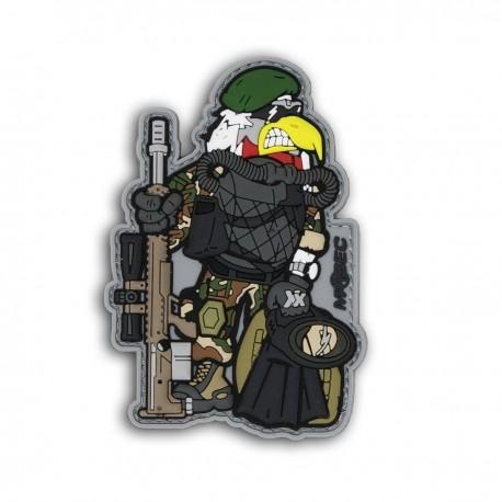 Patch Coq Nageur de combat