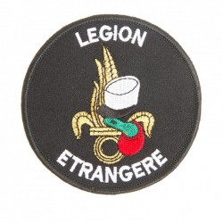 Ecusson legion kepi/flamme