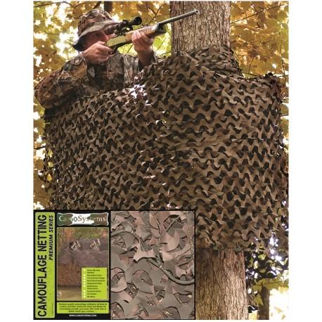 Filet de camouflage BASIC MILIT. W/L 3X6M