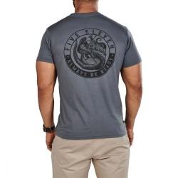 T-shirt gris manches courtes édition limitée logo Mongoose