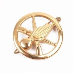 Insigne de béret doré Infanterie