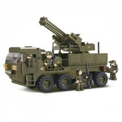 Sluban : camion lourd armé . M38-B0302
