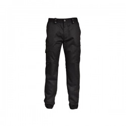 Pantalon action noir mat