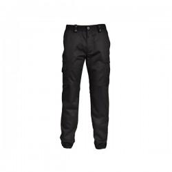 Pantalon action noir mat