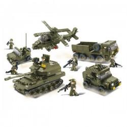 Sluban : Set véhicules militaires . M38-B0311