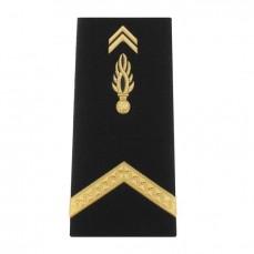 Fourreaux rigides Homme Gendarmerie Mobile Sous Contrat