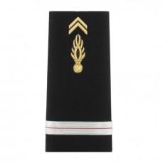 Fourreaux rigides Homme Gendarmerie Départementale Adjudant