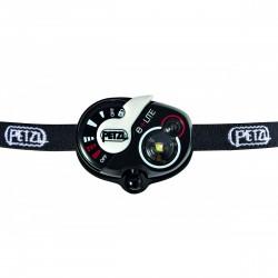 Lampe frontale de secours E+Lite noir avec sifflet d'alerte - 50 Lumens