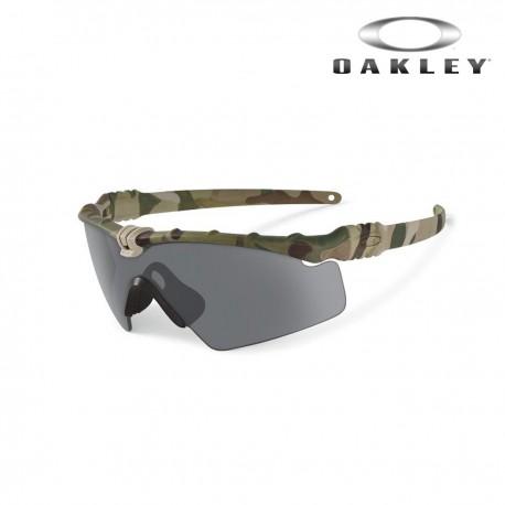 Lunette Ballistic M Frame® 3.0 multicam fumé Oakley SI