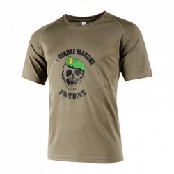 Tee-shirt easy-clim kaki diable légion
