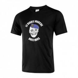 Tee-shirt easy-clim Noir diable marche TDM
