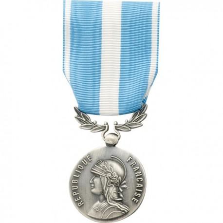 Médaille Ordonnance Outre-Mer Bronze Argenté