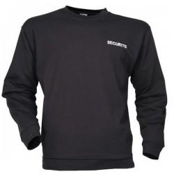 Sweat Shirt Sécurité noir
