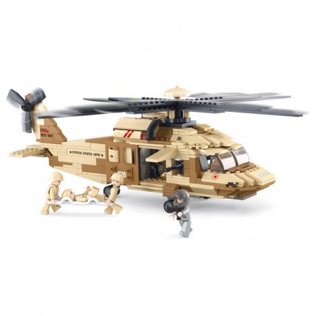 Sluban : Hélicopter Black hawk . M38-B0509