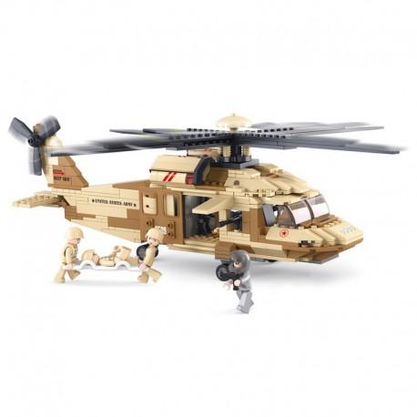 Sluban : Hélicopter Black hawk . M38-B0509