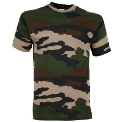 Tee-shirt camouflage enfant cam CE
