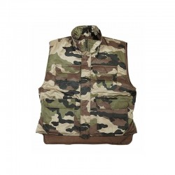 Gilet grand froid Camouflage CE