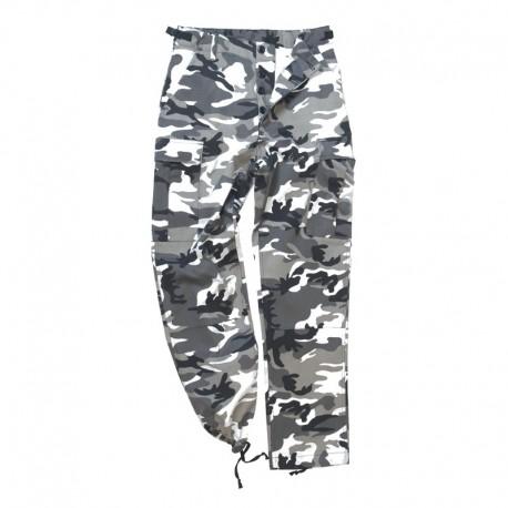 Pantalon US BDU M65 camouflage urbain gris
