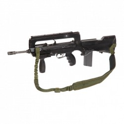 Sangle istc FAMAS attache bi-pied kaki