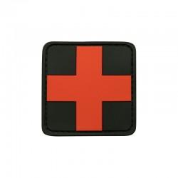 Patch 3D gomme souple Croix médicale 50 x 50 mm