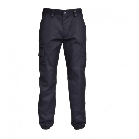 Pantalon action Bleu mat