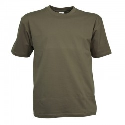Tee-shirt militaire kaki manches courtes