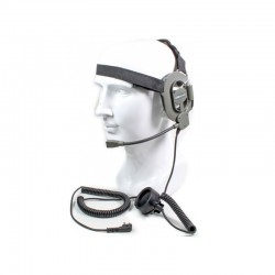 Casque-micro mono-oreille type NAVY SEALS