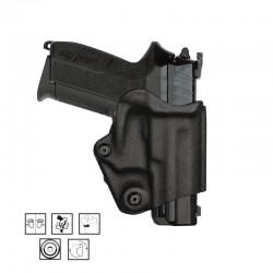 Holster vegatek short vks804 pour glock 17/19. noir