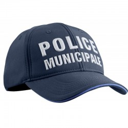 Casquette Police Municipale P.M. ONE Stretch Fit hiver