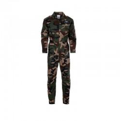 Combinaison pilote enfants camouflage