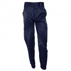 Pantalon d'intervention antistatique bleu