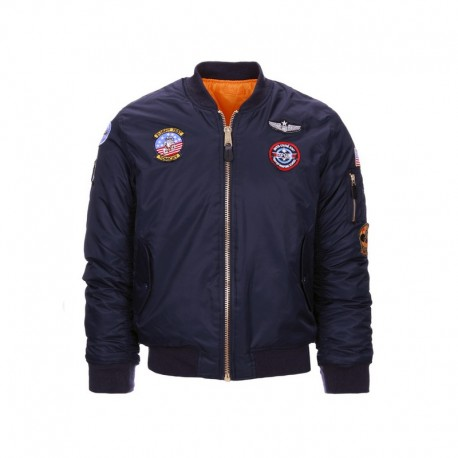 Veste bombers aviation enfant MA-I