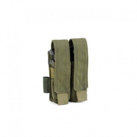 Porte chargeur double 9mm OD