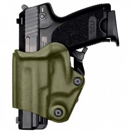 Holster gaucher Vegatek Short VKS8 vert OD pour PAMAS MAS-G1