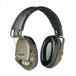 Casque anti-bruit Suprême Basic serre-tête vert OD coussinets mousse