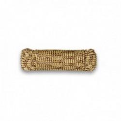 Drisse corde Ø 5 mm - longueur 15 m tan