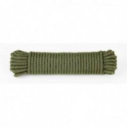 Drisse corde Ø 7 mm - longueur 15 m vert OD