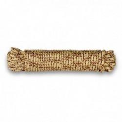 Drisse corde Ø 7 mm - longueur 15 m tan