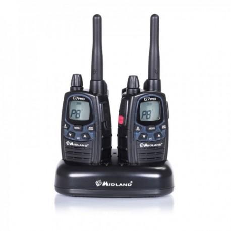 Pack de 2 radios PMR446 G7 Pro