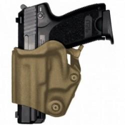 Holster gaucher Vegatek Short VKS8 tan pour PAMAS MAS-G1