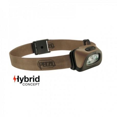 Lampe frontale Hybrid éclairage 2 couleurs Tactikka + tan - 250 Lumens