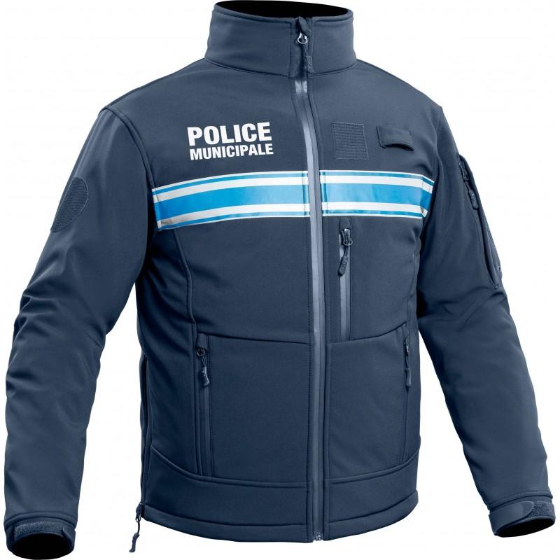 Police Municipale mOne Softshell P Veste 2WHID9E