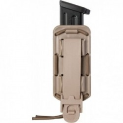 Porte-chargeur simple Bungy 8BL tan pour pistolet automatique