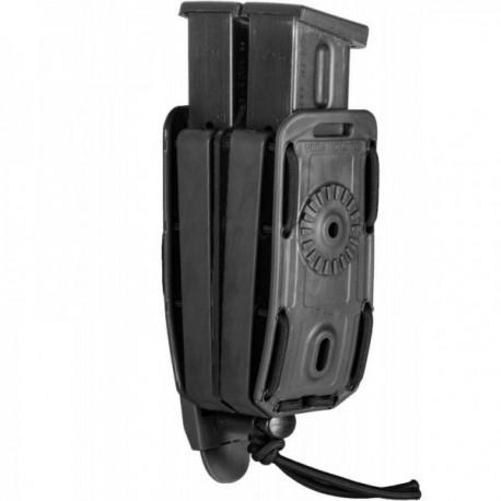 Porte-chargeur double Bungy 8BL noir pour pistolet automatique