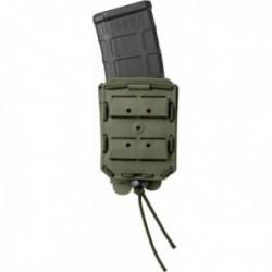 Porte-chargeur simple Bungy 8BL vert OD pour M4/AR15