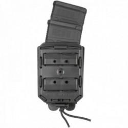 Porte-chargeur double Bungy 8BL noir pour M4/AR15